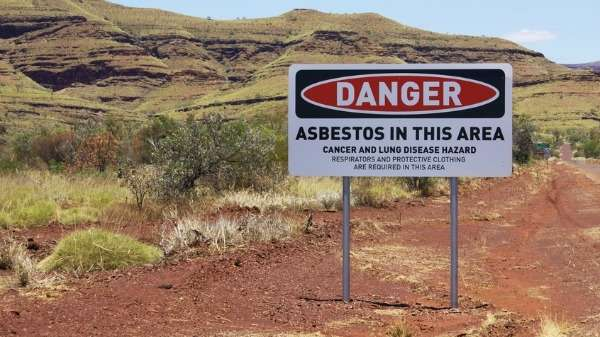 Wittenoom records the world's worst mesothelioma rate