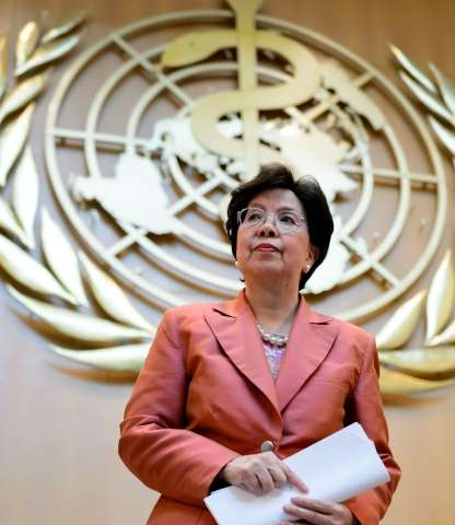 World Health Organisation director-general Margaret Chan warned in September that some scientists were describing the impact of