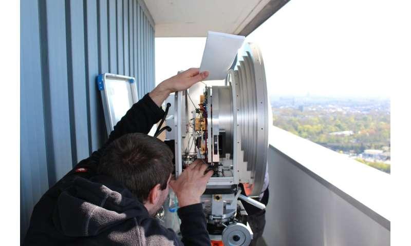 World record in terrestrial radio transmission