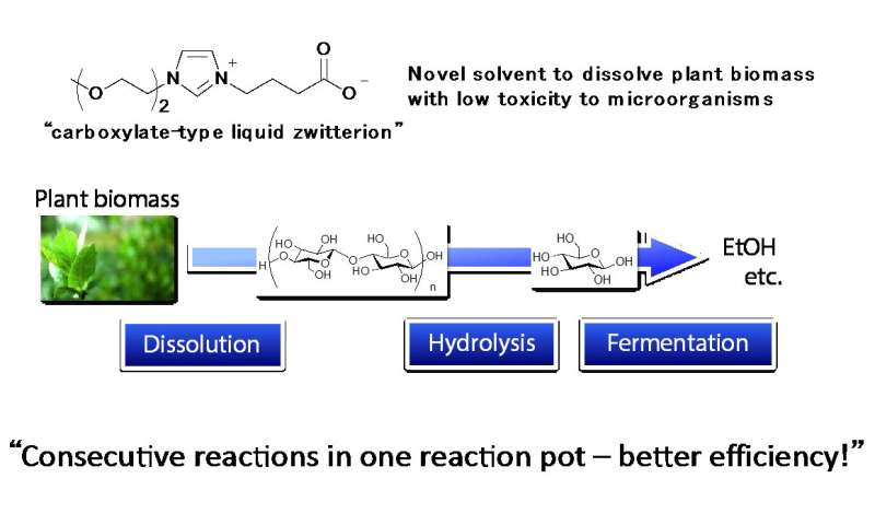 Next generation solvent contributes to next generation biofuel production from biomass
