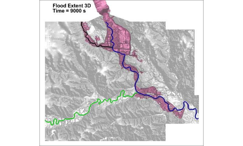 3-D models help scientists gauge flood impact