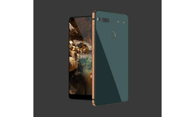 Android software creator unveils 'Essential' phone