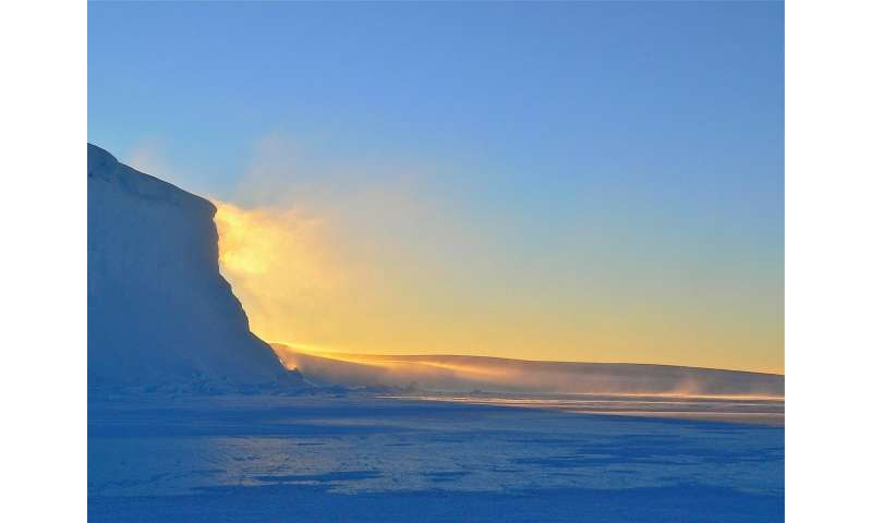 Extraordinarily warm temperatures above Antarctica cause hot and dry extremes in Australia, researchers warn