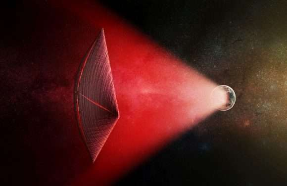 Are aliens communicating with neutrino beams?