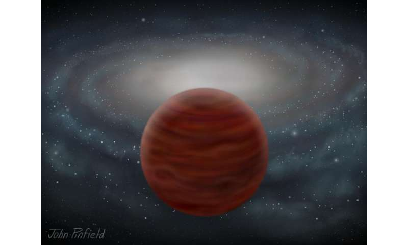 Astronomers identify purest, most massive brown dwarf