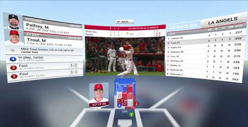 Baseball coming June 1 to virtual-reality headsets