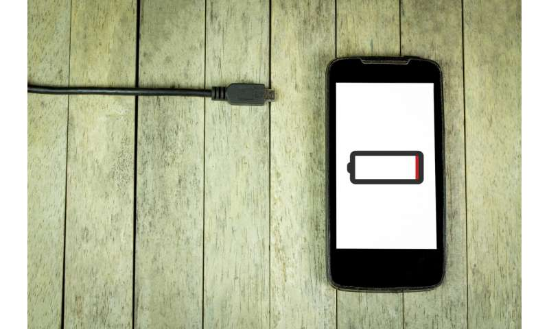 Bright future for self-charging batteries