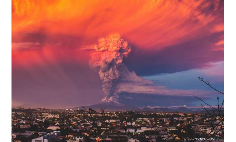 Chemical tipping point of magma determines explosive potential of volcanoes