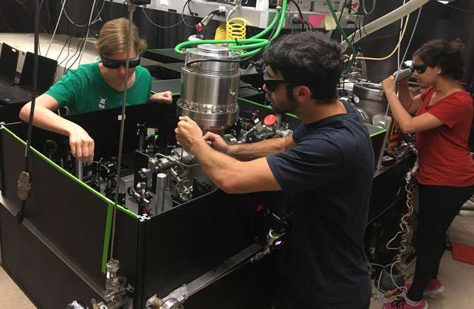Coming to a lab bench near you: Femtosecond X-ray spectroscopy