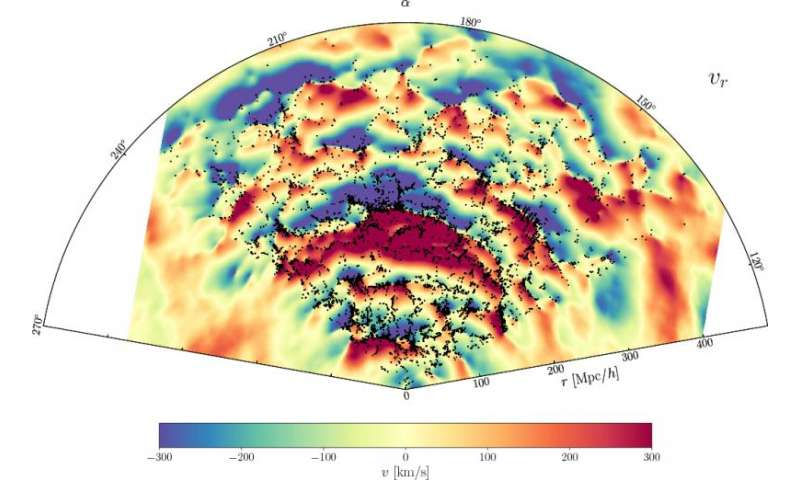 Cosmologists produce new maps of dark matter dynamics