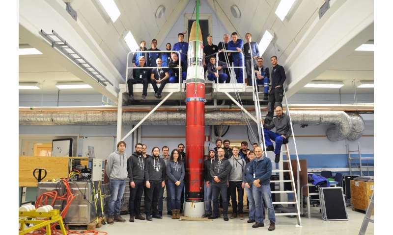Experiment involving ultracold rubidium lifts off with research rocket