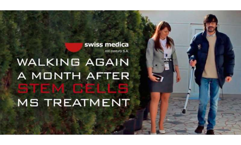 Finally, unproven stem cell clinic practices might be curtailed