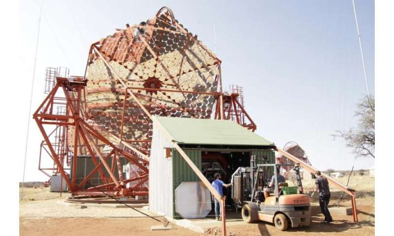 Final milestone for the upgraded H.E.S.S. telescopes in Namibia