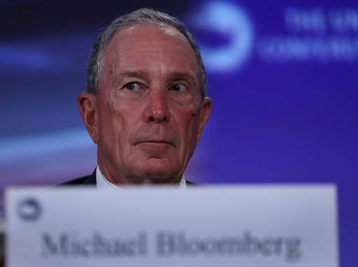 Former New York mayor Bloomberg is joining with California Governor Jerry Brown in an initiative to report on efforts by America