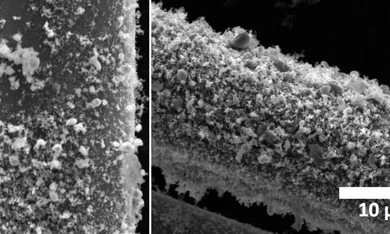 'Fuzzy' fibers can take rockets' heat