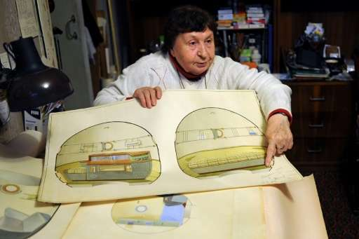 Galina Balashova went on to spend three decades designing the interior of the Soyuz and other Soviet spaceships, making sure the