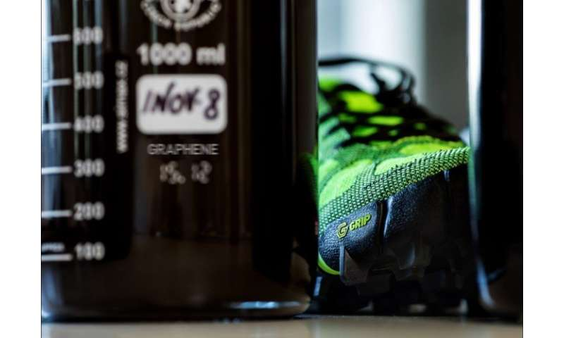 Graphene at the forefront of a sports footwear revolution