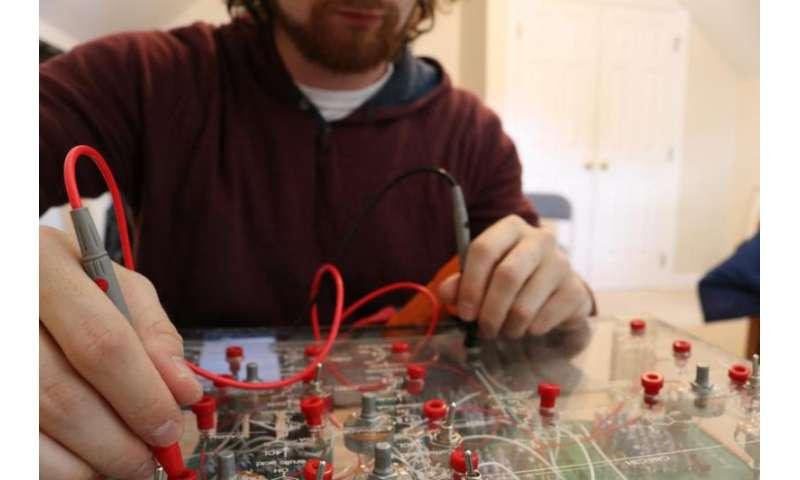 Hands-on model helps students understand genetic engineering