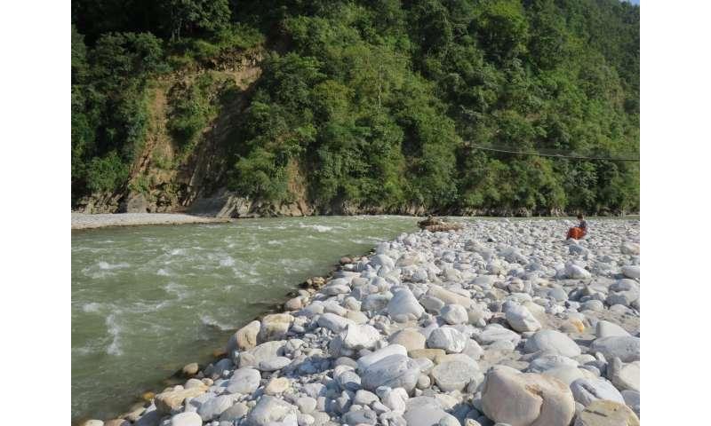 Hard rocks from Himalaya raise flood risk for millions