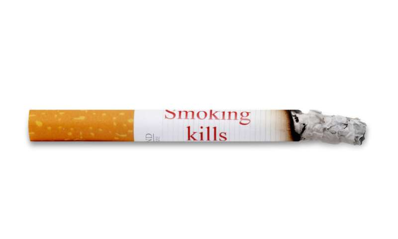 Health warnings on cigarettes could deter young people