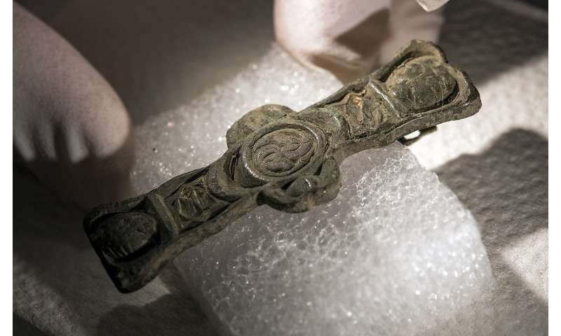 Historic finds unearthed in Medieval cemetary