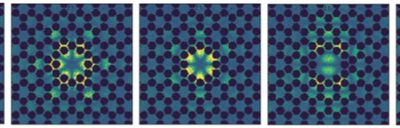 Holey pattern boosts coherence of nanomechanical membrane vibrations