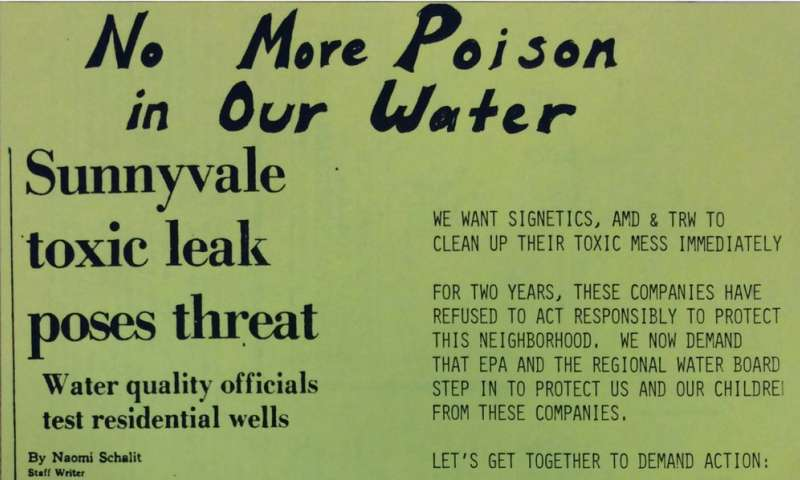 How Silicon Valley industry polluted the sylvan California dream