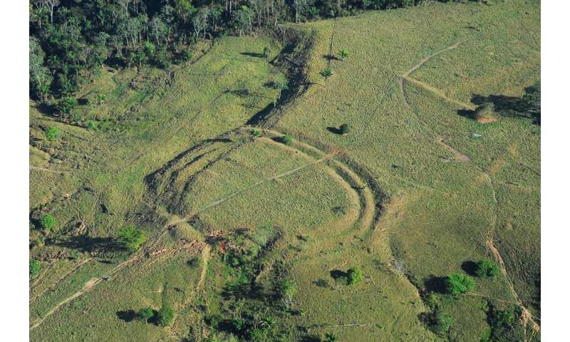 Hundreds of ancient earthworks built in the Amazon