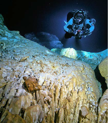 Ice age era bones recovered from underwater caves in Mexico