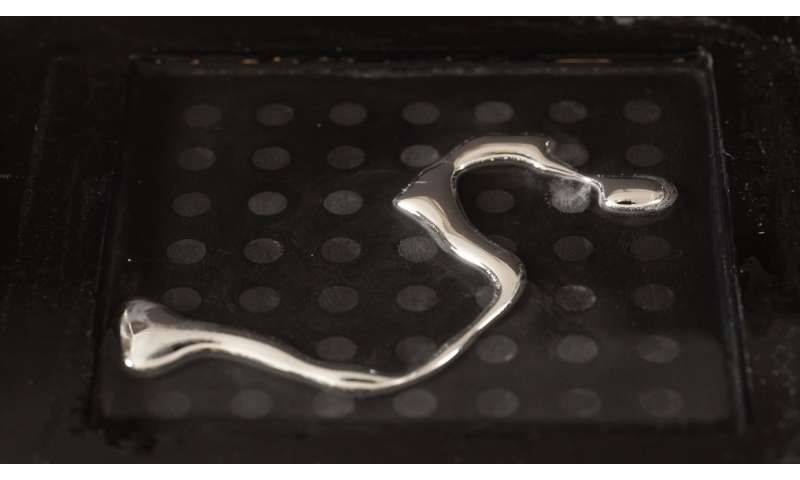 Liquid metal brings soft robotics a step closer