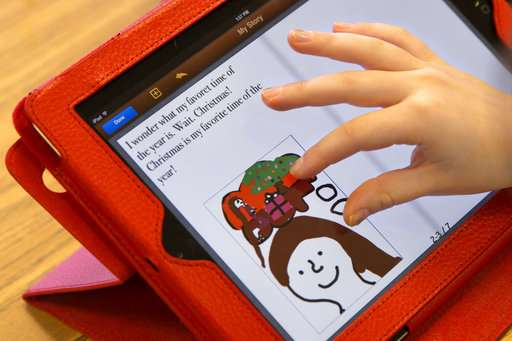 Many schools now urge kids to bring their own screens