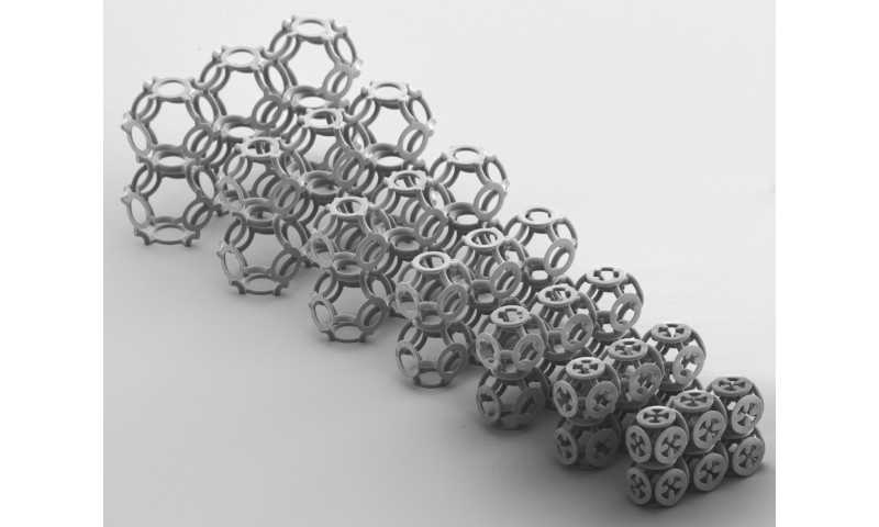 Metamaterial: Mail armor inspires physicists