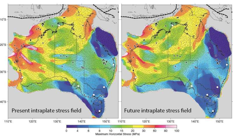 Mitigating global warming by CO2 storage? Check for continental stress