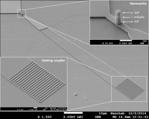 More efficient nano-LED opens door to faster microchips