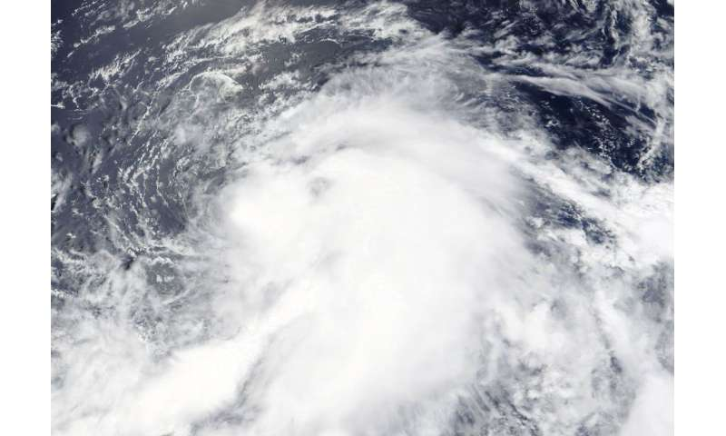 NASA catches formation of Tropical Depression 13W