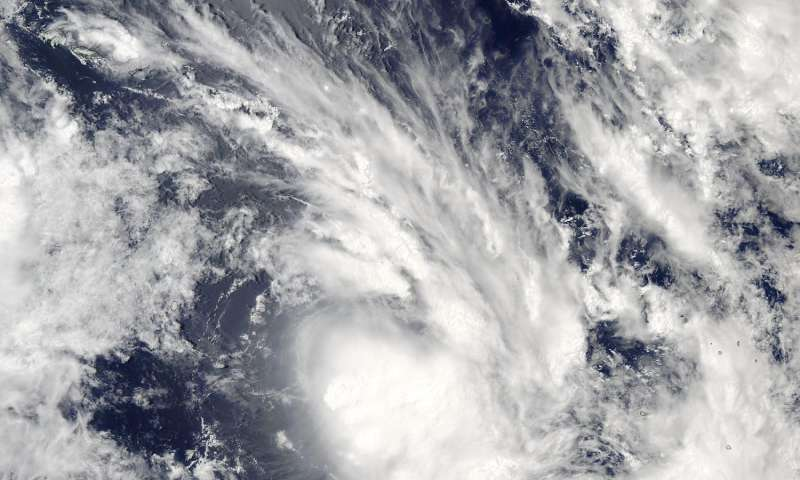 NASA sees development of South Pacific's Tropical Cyclone Bart