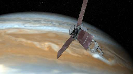 NASA's Jupiter-circling spacecraft stuck making long laps