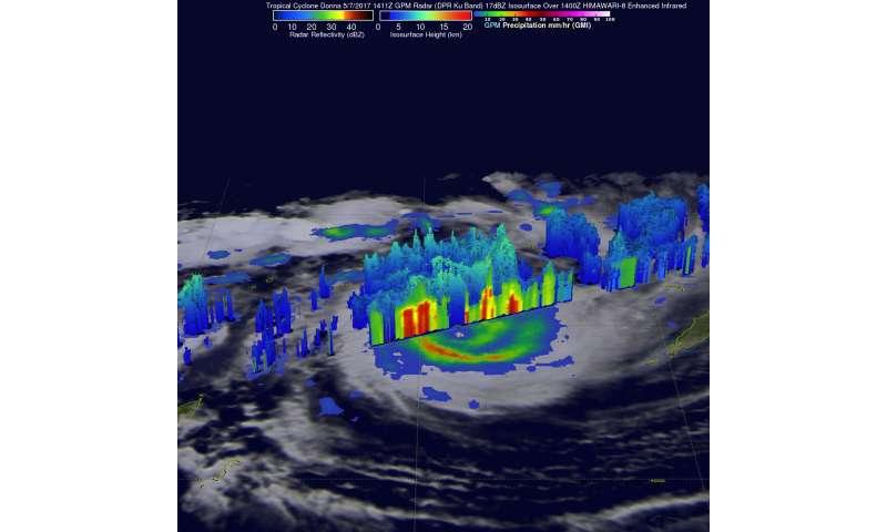 NASA spots powerful Tropical Cyclone between Vanuatu and New Caledonia