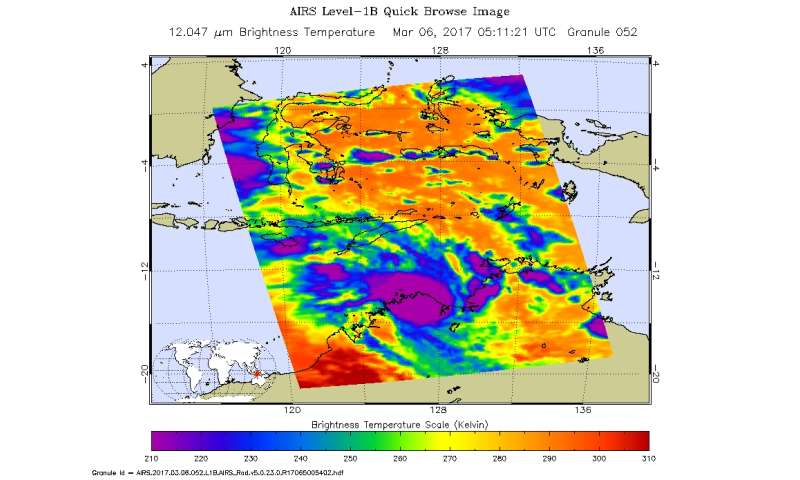 NASA takes a double-look at Tropical Cyclone Blanche
