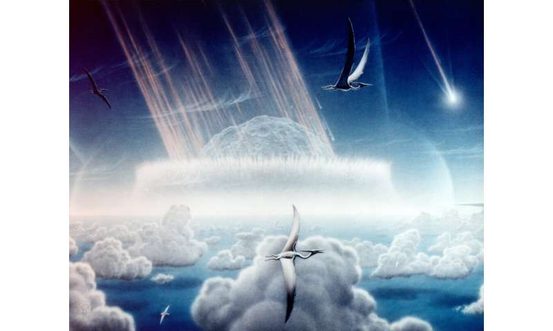 New analysis of Chicxulub asteroid suggests it may have struck in vulnerable spot