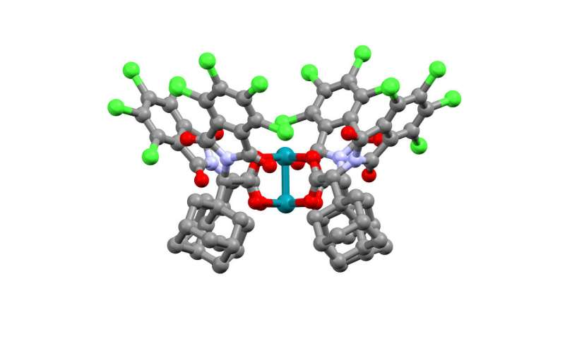 New catalyst controls activation of a carbon-hydrogen bond