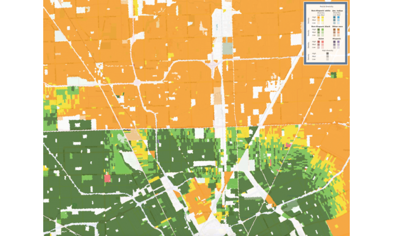 New map shows racial diversity of every neighborhood in ...