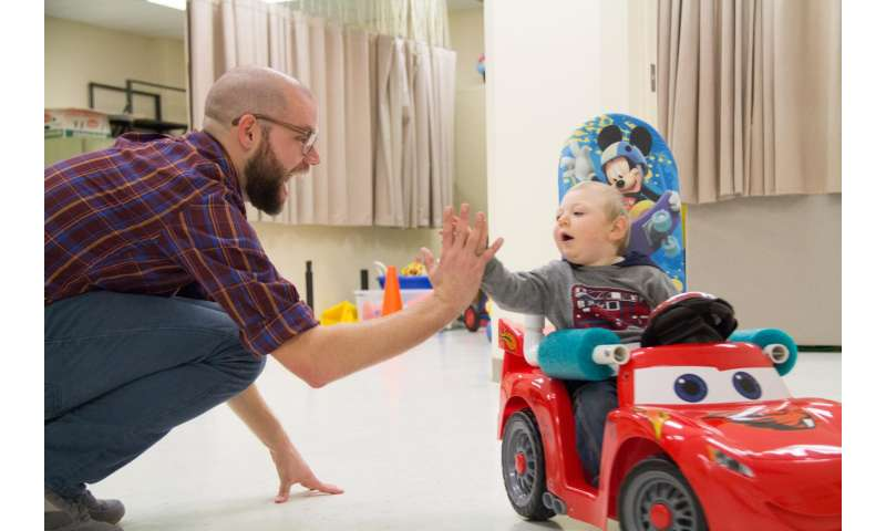 New modified toy car designs offer children with disabilities more options