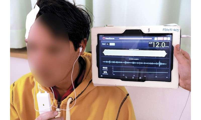New noninvasive method of intracranial pressure monitoring