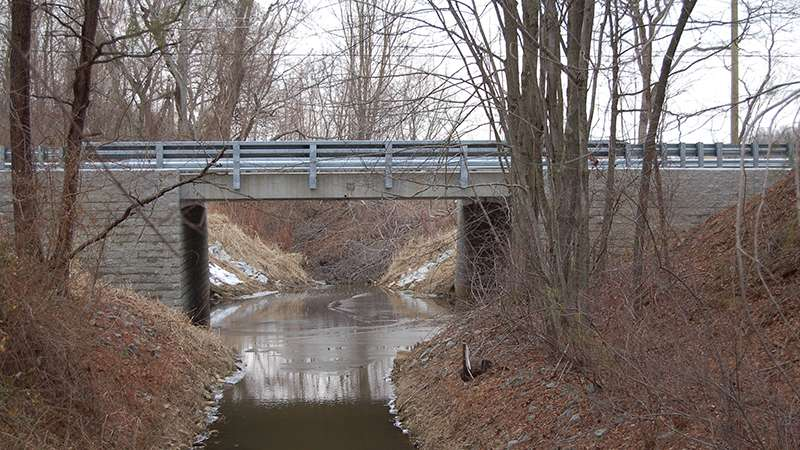 Novel technology applied to replace aging bridge