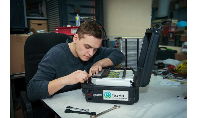 NUST MISIS and TEEMP Develop Device to Start Heavy Equipment at Temperatures as Cold as −60 °C