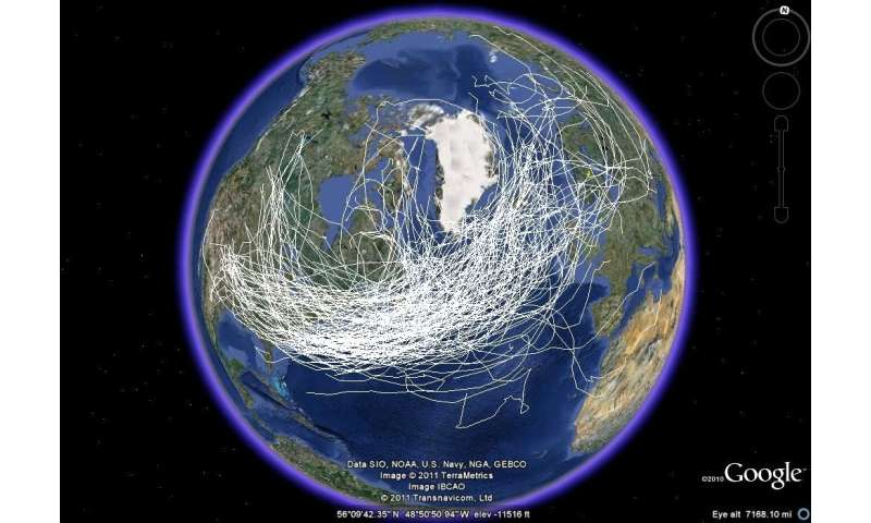 Off track: How storms will veer in a warmer world