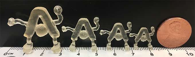 One-step 3D printing of catalysts