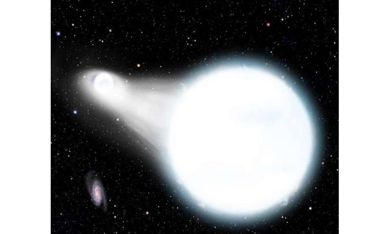 OU astrophysicist predicts detached, eclipsing white dwarfs to merge into exotic star