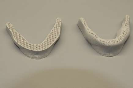 Printed 3-D structures based on cellulose nanocrystals